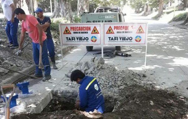 Obras en Tafi Viejo