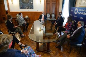 Manzur reunido con nuevas autoridades de la unión industrial-5